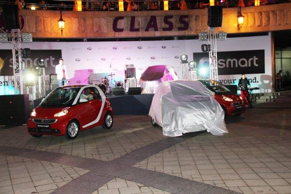 Презентация Smart fortwo и fortwo cabrio в Киеве
