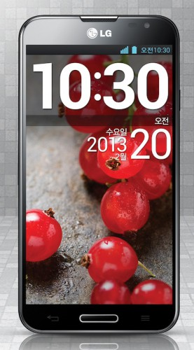 LG Optimus G Pro - вариант в черном корпусе