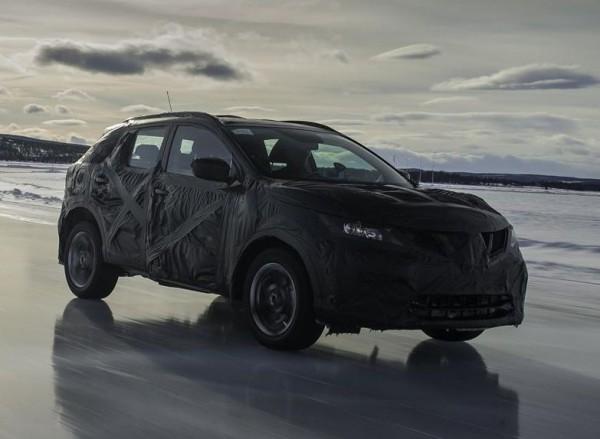 Новый Nissan Qashqai. Тестовый прототип