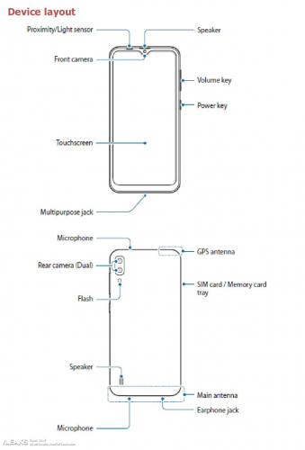 Описание смартфона