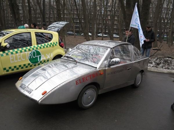 Электра-2 была представлена киевском клубом Электро-Автосам