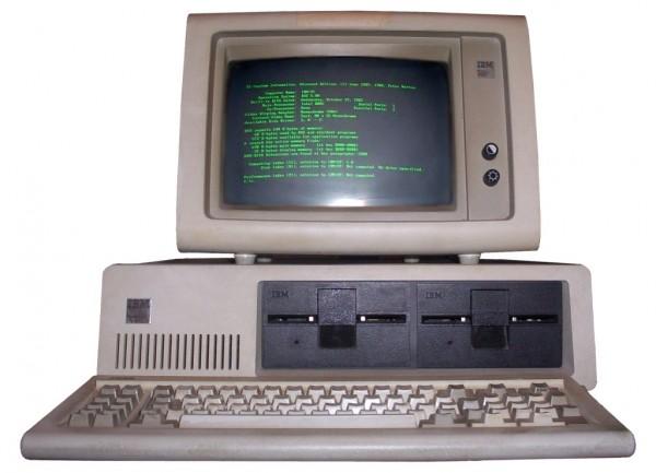 Первый компьютер IBM