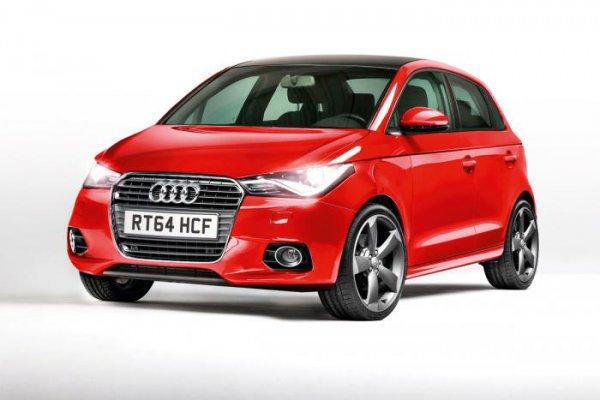Неофициальная иллюстрация Audi A2