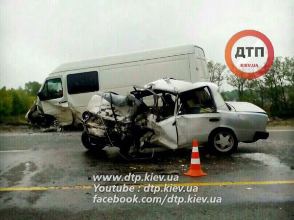 Смертельная авария под Киевом