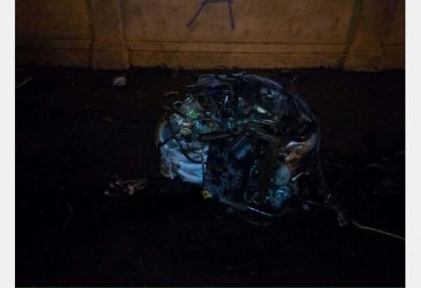 Очередная погоня с полицейскими имела место в Харькове