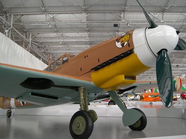 Мессершмитт Bf.109 G-2 в музее «Dream of the Wings»