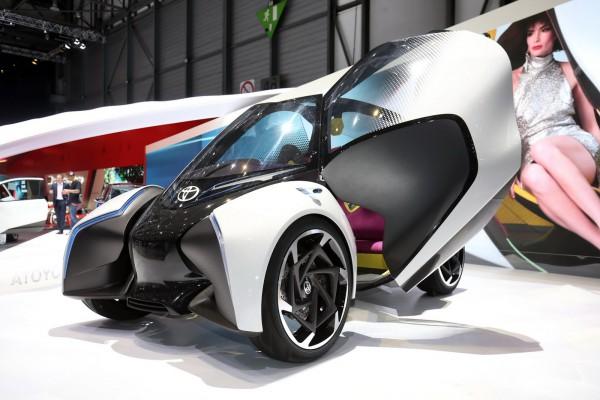 трехколесные концепт кары на альтернативном топливе