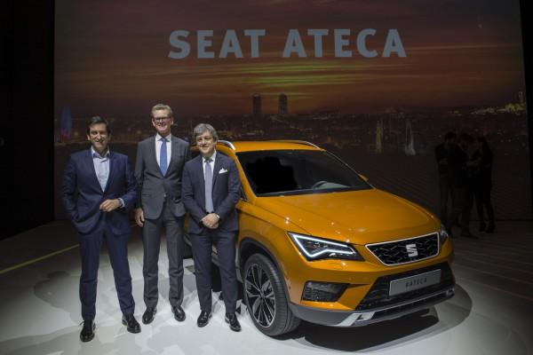 Новый кроссовер SEAT Ateca