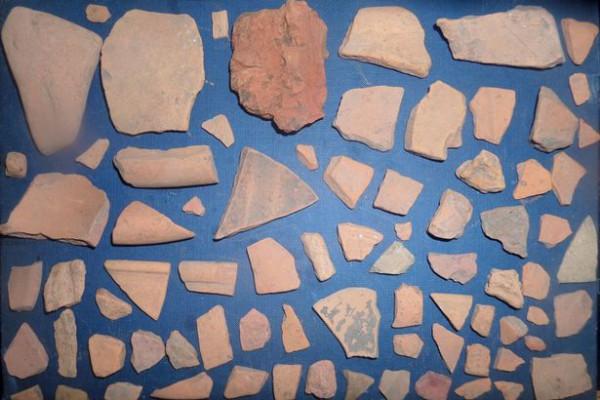 Черепки древнеримской посуды