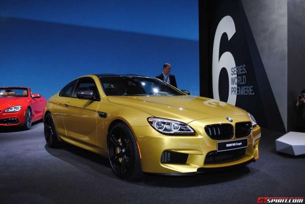 В Детройте показали несколько обновленных BMW 6-Series