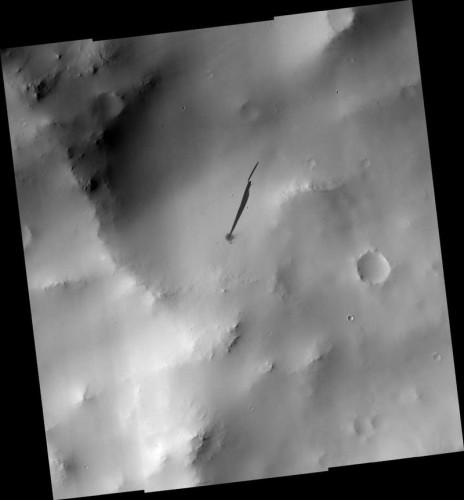 След на Марсе