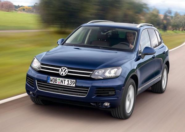 Украинцы потратили больше всего денег на покупку VW Touareg