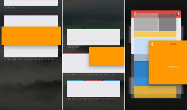 Интерфейс Fuchsia OS