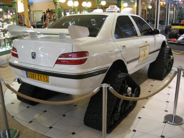 Гусеничный привод для марсельского такси