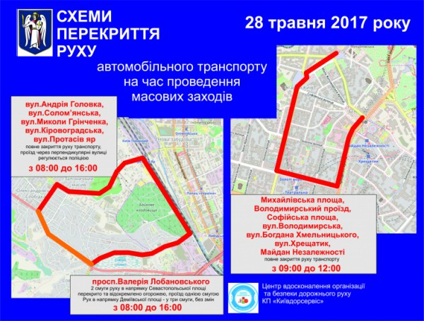 В Киеве состоится велогонка и Пробег под каштанами