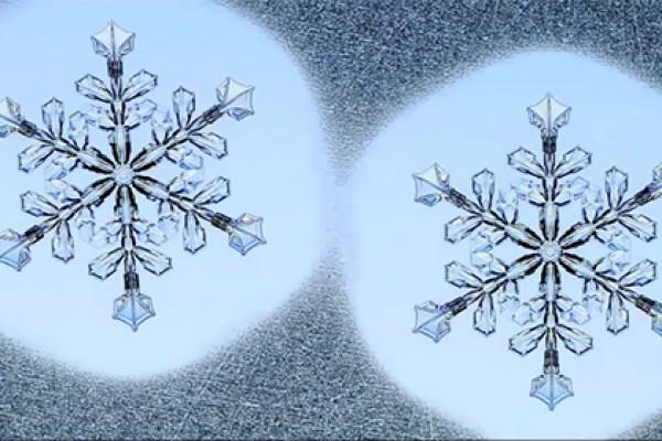 Одинаковые снежинки