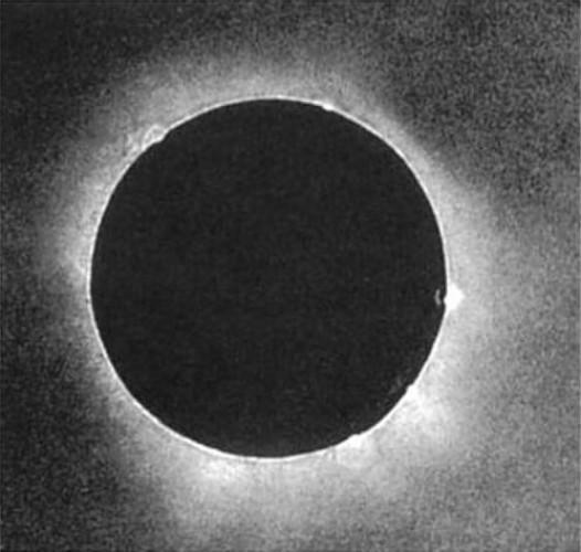 Дагерротип солнечного затмения