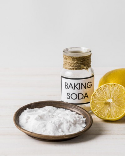 Сода хорошо убирает накипь