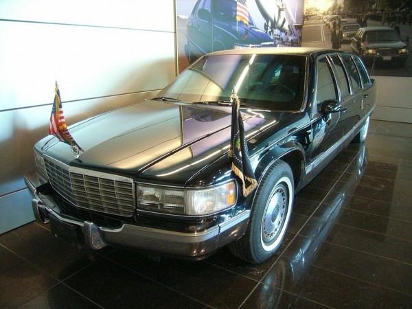 Cadillac Fleetwood Билла Клинтона