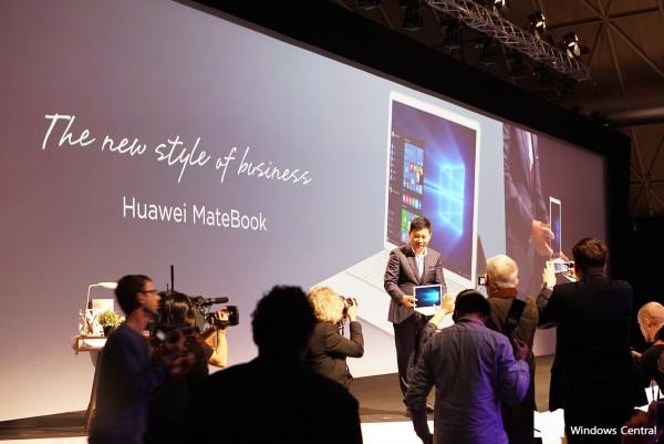 Презентация Huawei Matebook