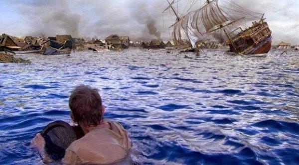Порт-Ройял был затоплен цунами