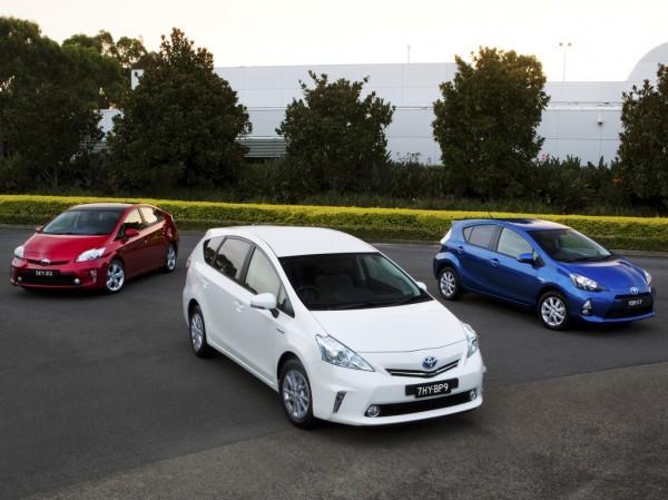 Toyota выиграла из-за поставок Prius