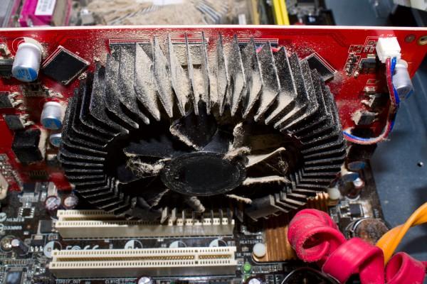 Очистить вентилятор компьютера самостоятельно