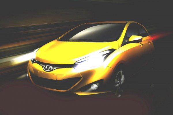 Hyundai HB20 – новая модель для развивающихся рынков
