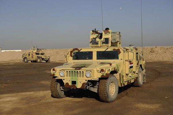 В Украину прибудут первые 30 Humvee