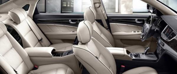 Интерьер Hyundai Equus Limousine