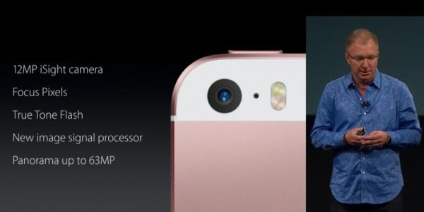 Камера iPhone SE