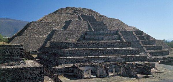 Пирамиды древнего города