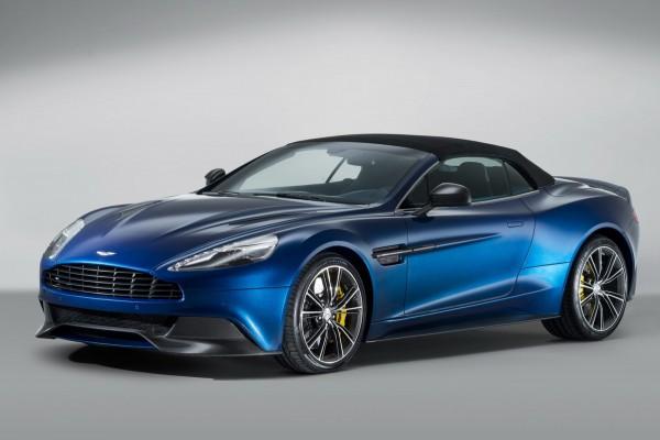 Aston Martin Vanquish Volante  стоит 265 тысяч евро в Германии