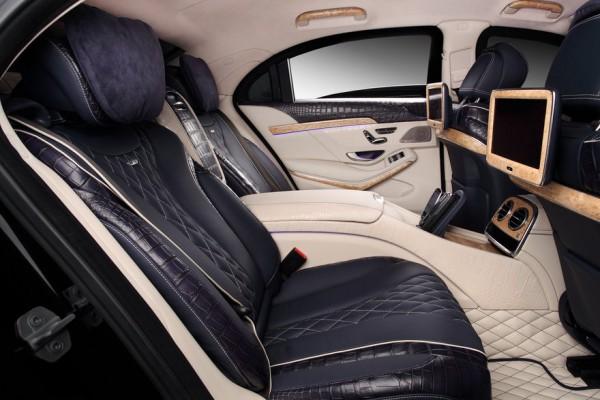 Салон обновленного Mercedes-Benz