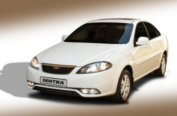 Daewoo Gentra - немного переделанный Chevrolet Lacetti