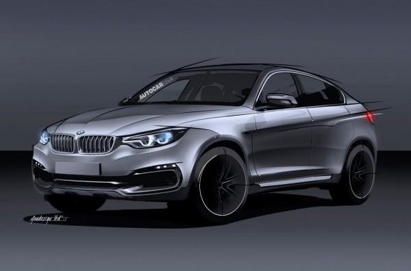 Неофициальная иллюстрация нового BMW X6