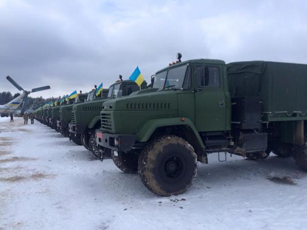 Армии передали и КрАЗы