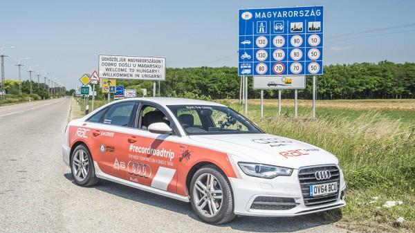 Дизельный Audi A6 установил рекорд