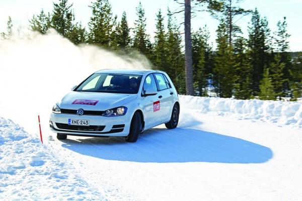 в Финляндии провели тесты зимних шин