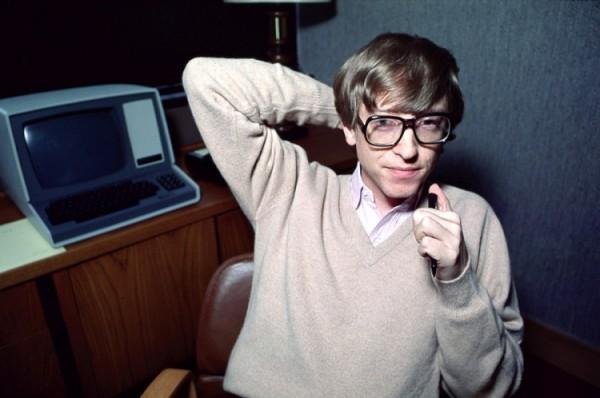 Молодой Билл Гейтс