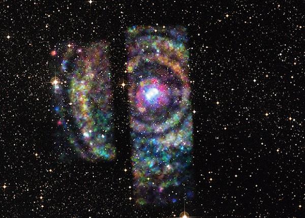 Комбинированное изображение Циркуль X-1