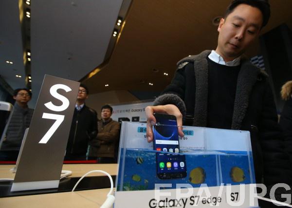 Начался старт смартфонов Samsung Galaxy S7 и Galaxy S7 edge