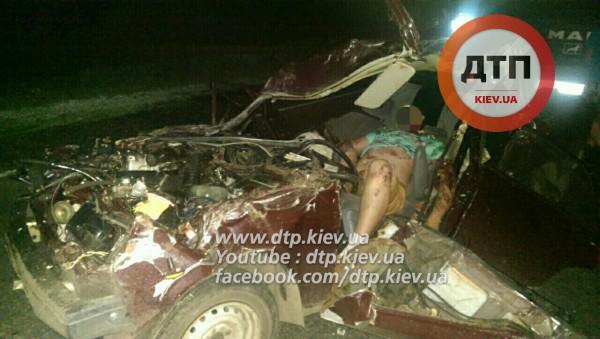 Смертельная авария на Бориспольской окружной