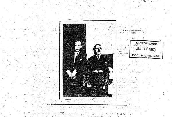 Якобы фотография с Гитлером после войны