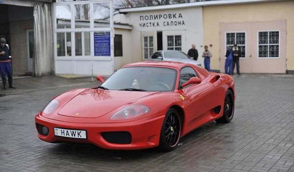 Копия  Ferrari 360, сделанная в Ивано-Франковске