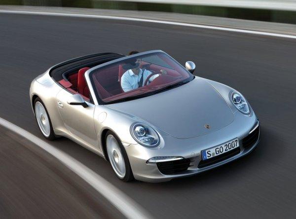 Porsche 911 Cabriolet – от €122 000