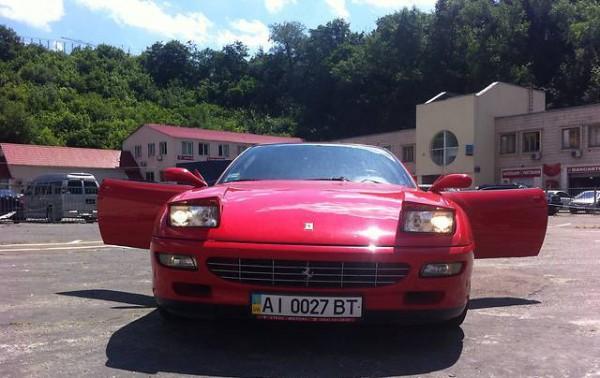 Настоящий Ferrari 456 1998 года выпуска