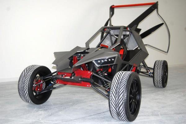 SkyRunner - гибрид багги и параплана. Стоит почти $120 тысяч.