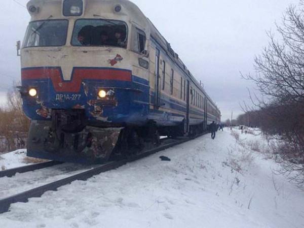 Пассажиры поезда не пострадали