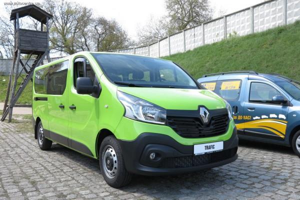 Оптика Renault Trafic